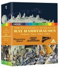 The Wonderful Worlds of Ray Harryhausen - Volume Two: 1961-1964 (Blu-ray) (Tuonti)