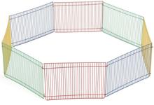 Beeztees løbegård til gnavere med 8 paneler 275602