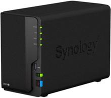 Synology DS218+ Nas for 2 harddisker
