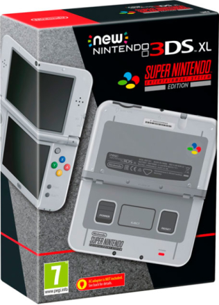 New Nintendo 3DS XL SNES Edition Meget begrenset antall
