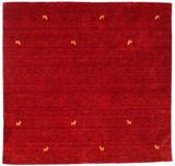 Gabbeh loom - Mörkröd matta 200x200 Orientalisk, K