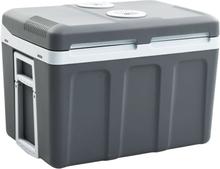 vidaXL Kannettava lämpösähkökylmälaukku 45 L 12 V 230 V A++