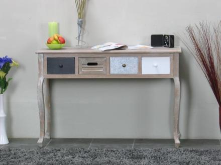 Madrid friserbord med 4 skuffer, bredde 110 cm, høyde 74 cm.