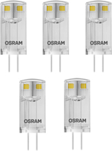 Osram Parathom LED Pin 0,9W/827 (10W) G4, Pakke á 5 stk.