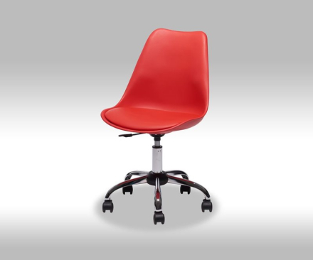 Fix kontorstol i rød.
