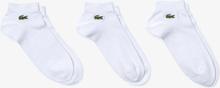 Lacoste Three-Pack Sport Low-Cut Cotton Socks