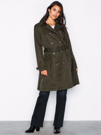 Lauren Ralph Lauren Cotton Trenchcoat