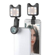 APEXEL APL-3663FL 0.36X Wide Angle Macro Selfie Light Mobile Phone Camera Lens