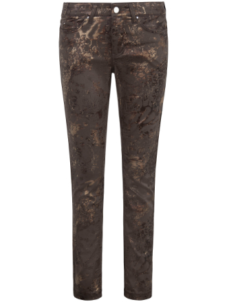 Jeans Dream Skinny, tumlängd 30 inches från Mac brun