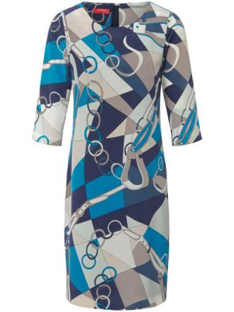 Klänning i 100% silke från Laura Biagiotti Donna mångfärgad