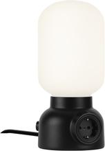 Plug Lamp bordslampa svart