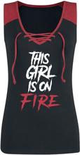 This Girl Is On Fire - -Topp - svart