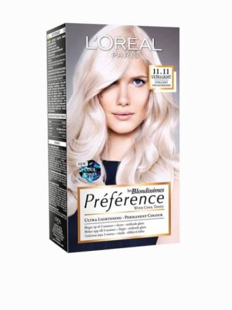 L'Oréal Paris Blondissimes Préférence with Cool Tones Sølv