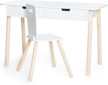 JOX, Kirjoituspöytä ja Tuoli Valkoinen