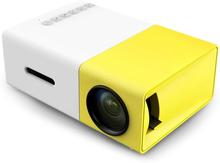 Kannettava LED projektori - Valkoinen ja Keltainen