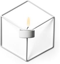 POV ljusstake vägg vit