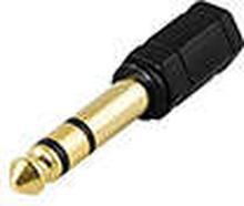 Adapter 6.3mm hane - 3.5mm stereo hona
