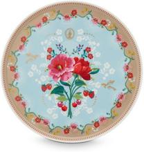 Tårtfat 30,5 cm Rose blue