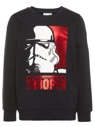 NAME IT Mini Star Wars Sweatshirt Men Black