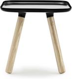 Tablo bord fyrkantigt svart litet