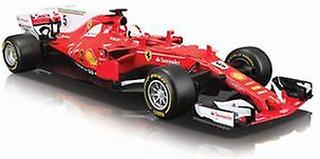 Ferrari F1 Hybrid (Sebastian Vettel - 2017) Diecast modell bil