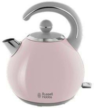 Vedenkeitin Bubble - Pastel pink/shiny stainless steel - 2400 W