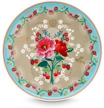 Tårtfat 30,5 cm Rose khaki
