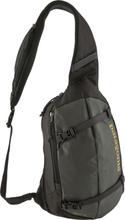 Patagonia Atom Sling Shoulder Bag 8l forge grey/textile green 2020 Axelväskor