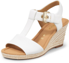 Sandaler kilklack från Gabor Comfort vit
