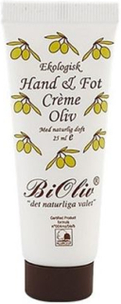 BiOliv Hand & Fotcreme Olivolja 25 ml