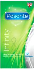 Pasante Delay Infinity Condooms - 12 STUKS