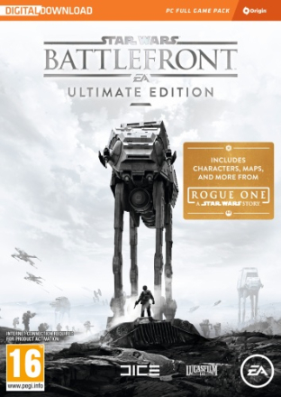 Star Wars Battlefront Ultimate Edition Code In A Box - CDON.COM