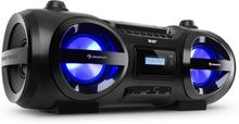 Soundblaster DAB Boombox Bluetooth CD/MP3/USB/AUX DAB+/VHF LED 50Wmax.