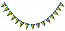 Flaggspel svenska flaggan