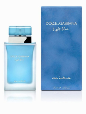 Parfyme - Transparent Dolce & Gabbana Light Blue Eau Intense 50 ml