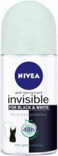 Nivea Invisible Black & White Fresh Deo 50 ml Deodoranter Transparent