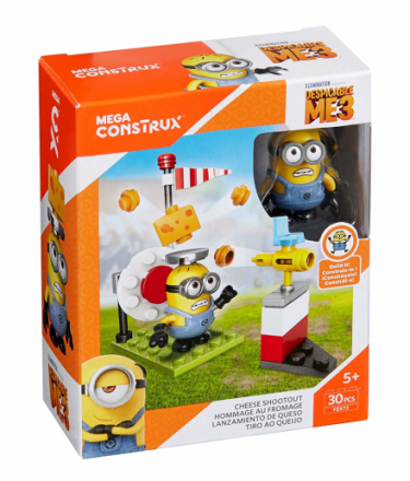Mega Bloks Despicable Me Minions Cheese Shootout - CDON.COM