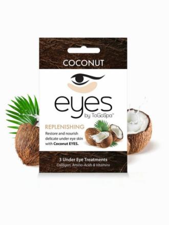ToGoSpa 3 Under Eye Treatments Coconut