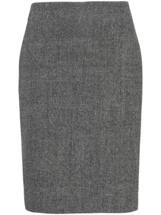 Kjol i 100% ren ny ull från Uta Raasch mångfärgad