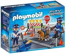 Playmobil Action, Polisvägspärr