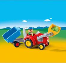 Playmobil 1.2.3, Traktor med släp