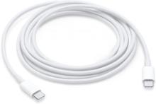 Apple USB-C-laddningskabel, USB-C ha - USB-C ha, 2m, vit