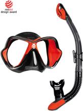 Mares Mask & Snorkelset (X-Vision Ultra + Ergo Dry)