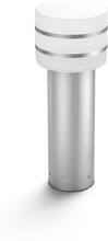 Philips Hue Tuar Lav havelampe, White i børstet stål