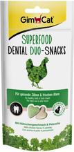 GimCat Superfood Dental Duo-snacks - 3 x 40 g