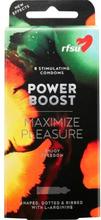 RFSU Power Boost kondomer 8 st