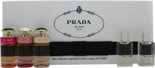 Prada Women Miniature Presentbox 8ml Infusion d'Iris EDP Fleur d'Oranger + 8ml Infusion d'Iris EDP + 7ml Prada Candy EDP + 7ml Prada Candy L'Eau EDT + 7ml Prada Candy Florale EDT