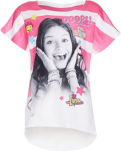 Disney Soy Luna, Soy Luna T-paita Valkoinen/Vaaleanpunainen