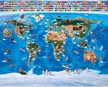 Walltastic, Kuvatapetti, Maailmankartta, 244 x 305 cm