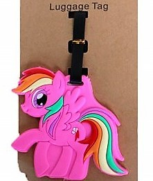 Bagagetag my little pony